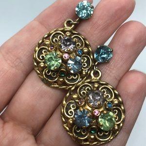 🧚♀️ Vintage Barclay Screw Back Earrings Dangle